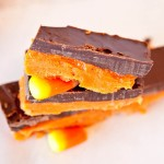Candy Corn Butterfinger Bars