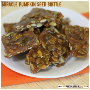 Miracle Pumpkin Seed Brittle
