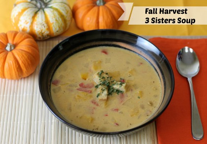Fall Harvest 3 Sisters Soup