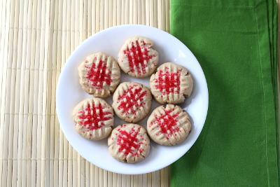 Criss-Cross Cookies