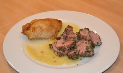 Roast Pork With Herb Rub