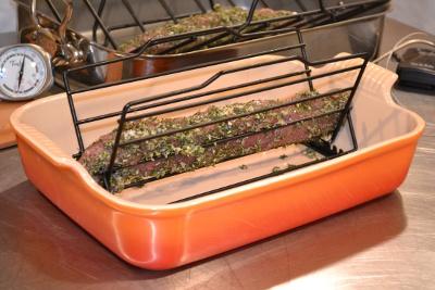 Pork In Roasting Pan