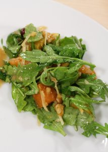 Roasted Butternut Squash with Warm Cider Vinaigrette