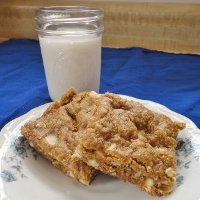 Slow Cooker White Chocolate Chip Peanut Butter Cookie Bars