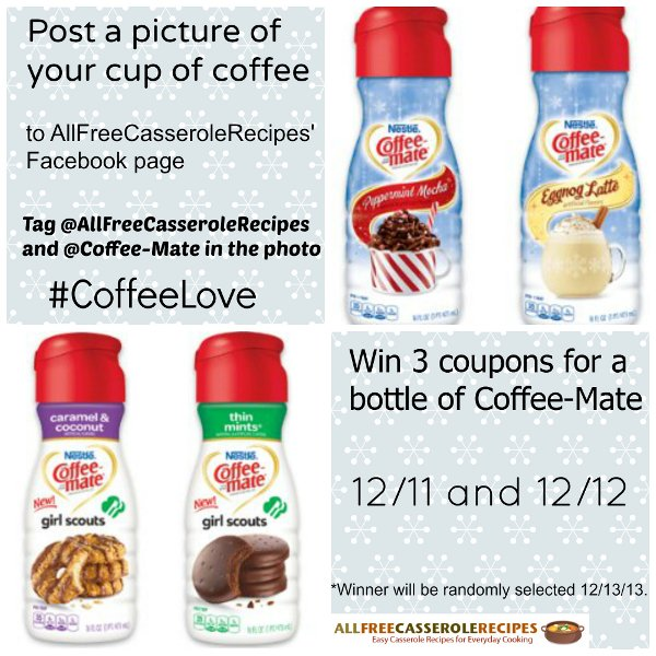 Coffee-Mate Facebook Contest