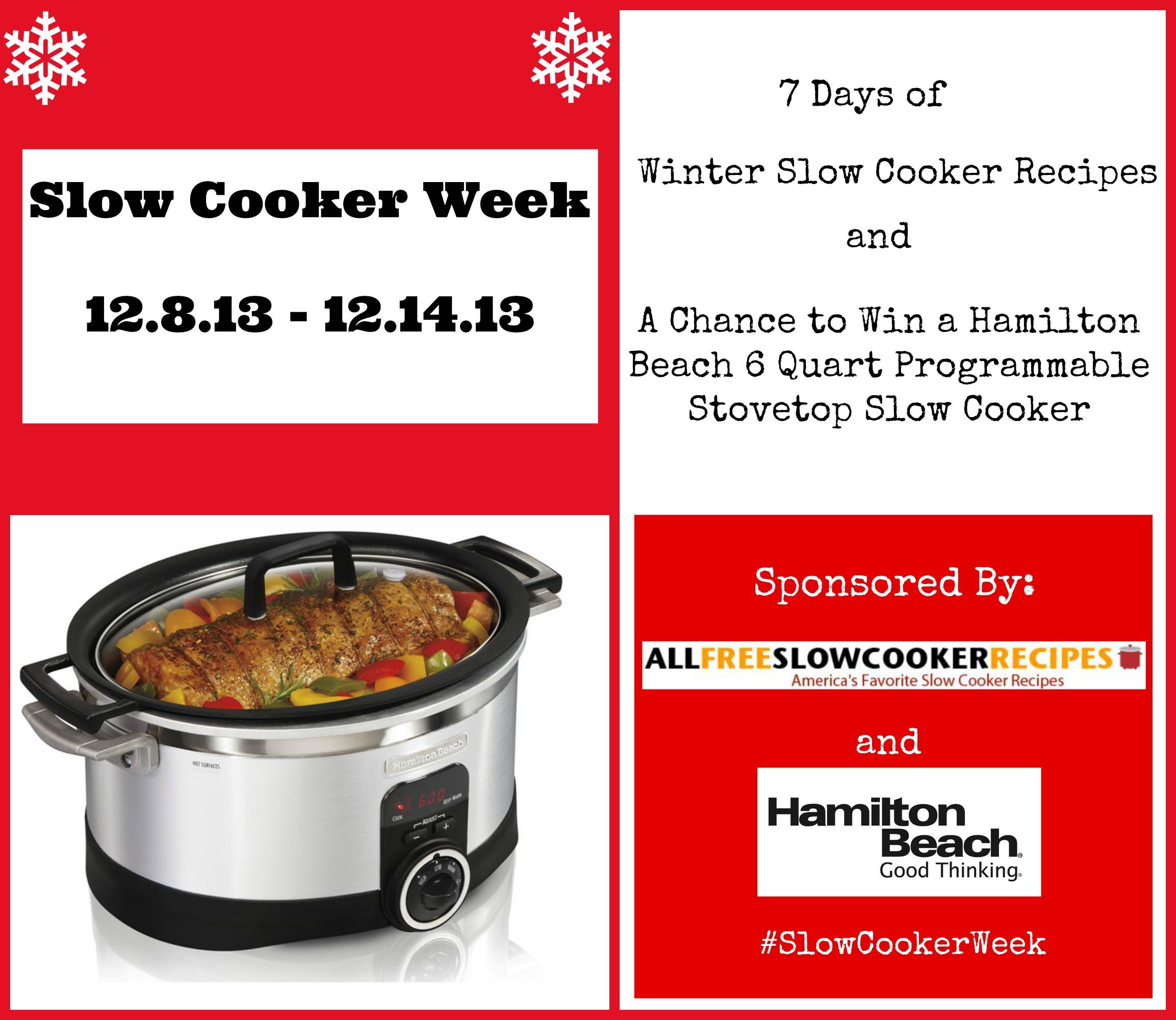 Slow Cooker Week