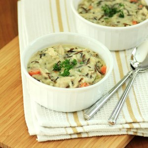 Copycat Panera Cream of Chicken and Wild Rice Soup
