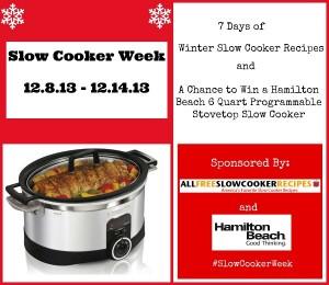 Slow Cooker Week Logo