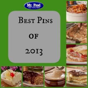 Mr. Food Top Pins 2013