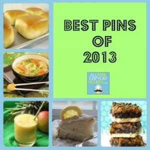 AllFreeCopycatRecipes.com Top Pins 2013