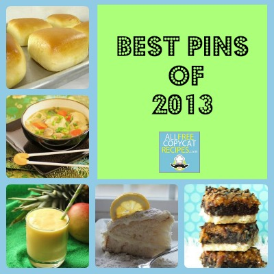 AllFreeCopycatRecipes.com Top Pins 2013