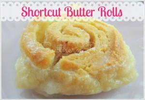 Shortcut Butter Rolls