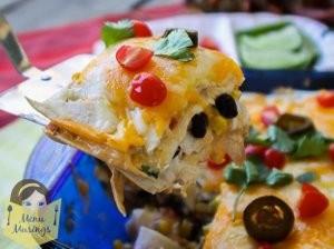 Easy-Mexican-Chicken-Lasagna