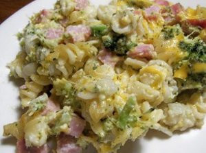 Slow-Cooker-Broccoli-and-Ham-Casserole