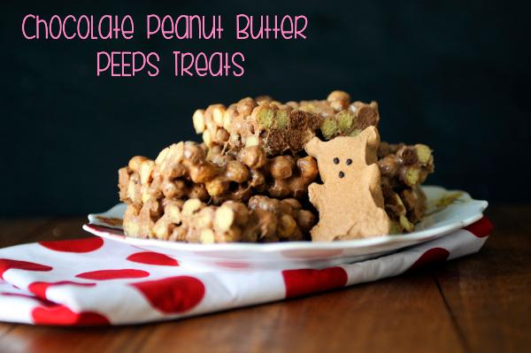 Chocolate Peanut Butter PEEPS Treats