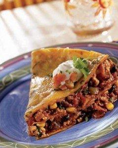 Slow Cooker Mexican Lasagna