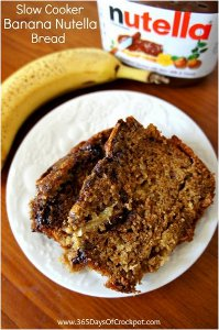 Banana Nutella Bread
