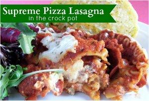 Supreme Pizza Lasagna