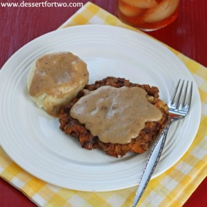 Chicken Fried Steak for Two