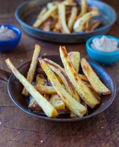Baked-Parsnip-Fries