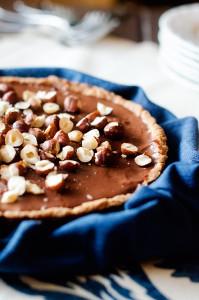 Chocolate-Hazelnut-Tart