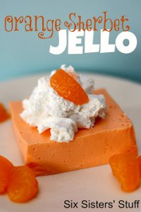 Orange-Sherbet-Jell-O