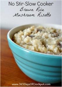 Easy No-Stir Mushroom Risotto