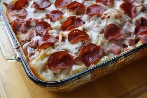 3-Meat-Pizza-Casserole