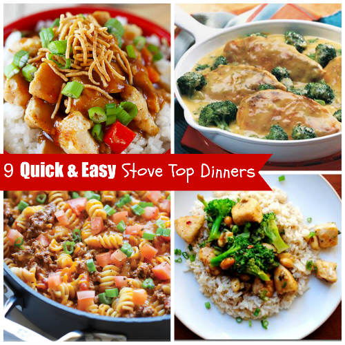 9 Quick and Easy Stove Top Recipes