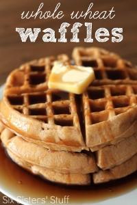 Homemade-Whole-Wheat-Waffles