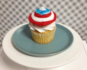 Fondant Decorated Cupcake