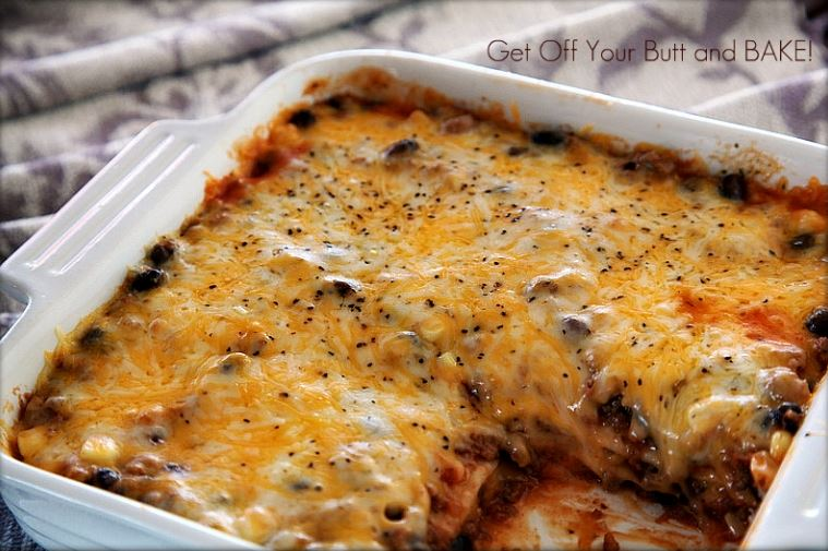 Cheesy-Enchilada-Casserole