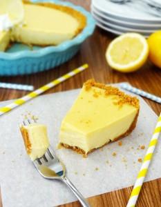 Guilty Pleasure Lemon Icebox Pie