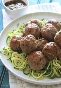 Asian-Turkey-Meatballs