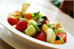 Fresh Fragrant Fruit Salad