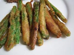 Batter Fried Green Beans