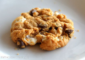 Flourless S'more Cookies