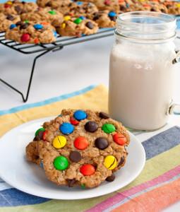 4 Step Monster Cookies