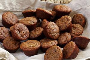 Zucchini Chocolate Chip Mini-Muffins