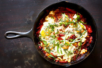 Shakshuka: North African Skillet Eggs