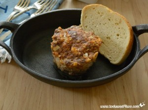 Man-Sized Meatloaf Muffins