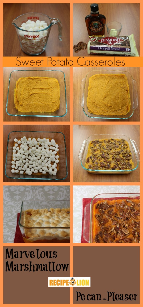 Sweet Potato Casseroles