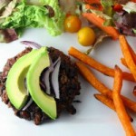 Five Ingredient Black Bean Burgers
