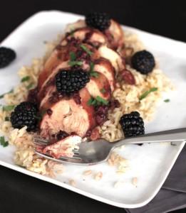 Slow Cooker Blackberry Chicken