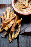 Spiced & Baked Parsnip Fries