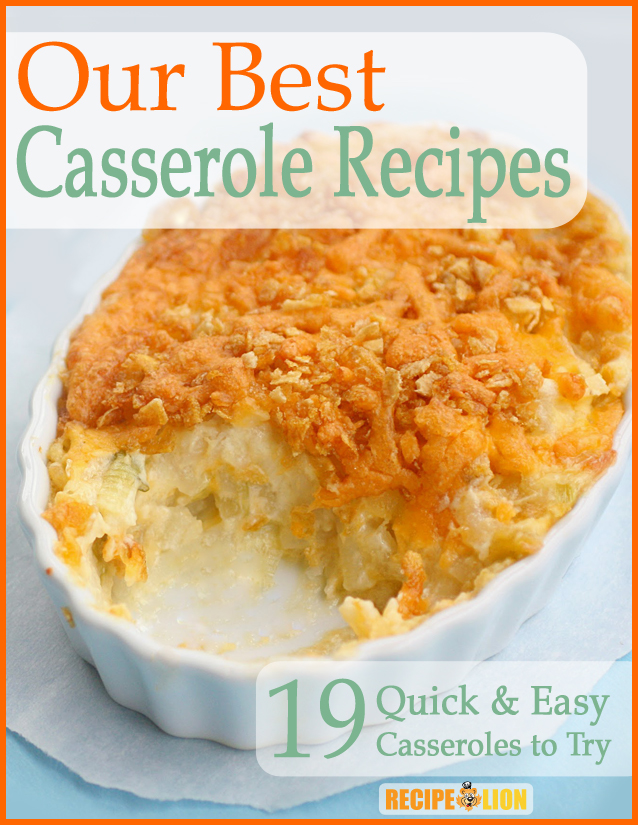 Our Best Casserole Recipes eCookbook