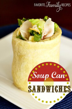 State Fair Soup Can Sandwices