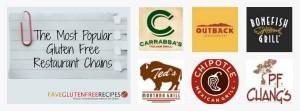 The Most Popular Gluten Free Restuarant Chains