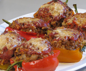 Farmhouse Stuffed Bell Peppers