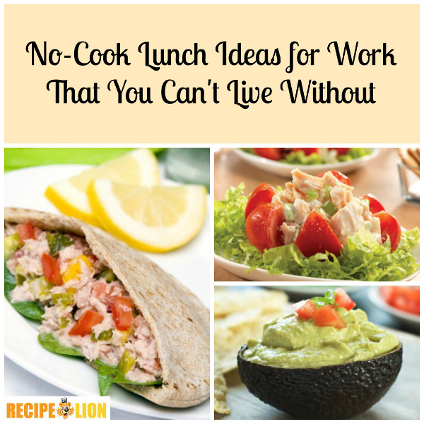 Brunch Ideas At Work: No-Cook Lunch Ideas For Work That You Can't Live Without